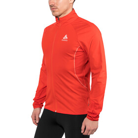 Odlo Zeroweight Windproof Warm Jacket Herr fiery red